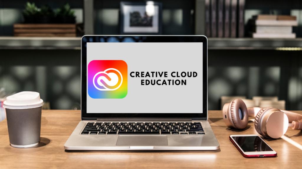Photo de présentation de creative cloud. Cette photo est lié à notre article surr les nouveautés de 2021 par Adobe ainsi que la mise a jour de son programme de licence K12 education